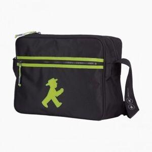 AMPELMANN Trainer Tasche NEU/OVP schwarz grün Geher City Bag Berlin Souvenir