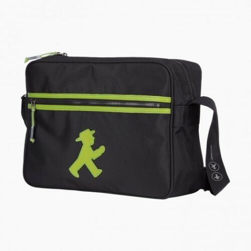 AMPELMANN Trainer Tasche NEU//OVP schwarz grün Geher City Bag Berlin Souvenir