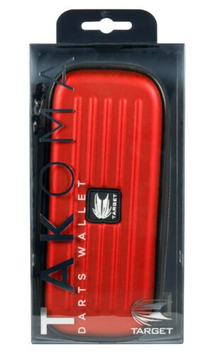 Holds Fully Assembled Darts. Target Takoma Strong EVA Darts Case Red