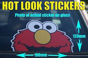 ELMO-Peeping-car-sticker-Bombing-Decal-JDM-DRIFT-car-truck-wall-Family