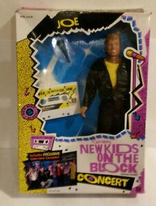 NKOTB New Kids Block doll 1990 Joey McIntyre Hasbro NOS in package w cassette