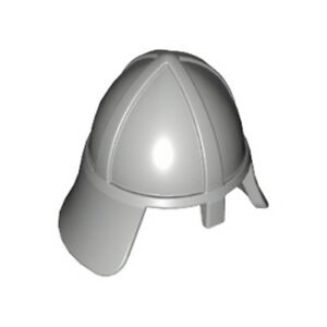 Lego New Minifigure Headgear Helmet Castle with Neck Protector Piece