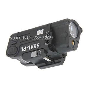 Tactical Red Laser SBAL-PL Dual Beam Aiming LED Flashlight Light