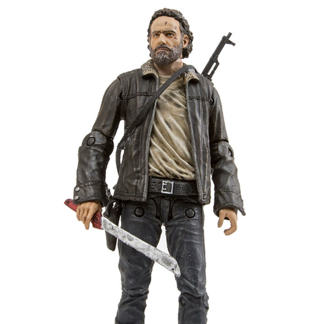 RICK GRIMES • SERIES 8 • C9 • 100% COMPLETE • McFARLANE THE WALKING DEAD