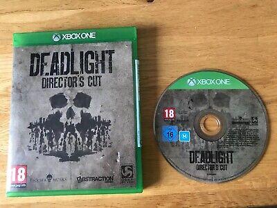 2019 Nieuwe Stijl Xbox One Deadlift Director's Cut Computer Console Game No Instruction Manual Vgc Bloedcirculatie Activeren En Pezen En Botten Versterken