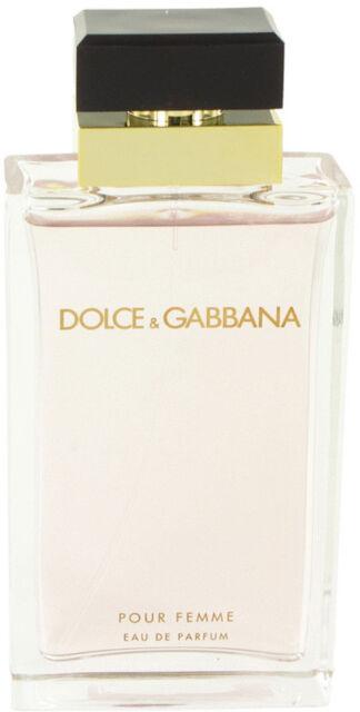 Dolce   Gabbana Pour Femme Eau De Parfum EDP for Women 3.3   3.4 Oz Spray  Tester 993a0ded95