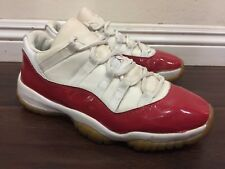 0e3baa53172 item 4 RARE🔥 2000 Nike Air Jordan XI 11 Low Retro White Varsity Red  136053-161 Sz 9 -RARE🔥 2000 Nike Air Jordan XI 11 Low Retro White Varsity  Red ...