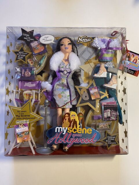 My Scene Goes Hollywood NOLEE Doll New Rare Barbie's Friend Mattel 2005 Movie