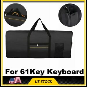61Key-Keyboard-Electric-Piano-Padded-Case-Gig-Bag-Advanced-Fabric-For-Yamaha-US