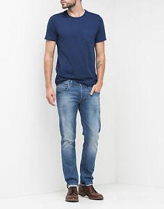 RRP £85 Mens Lee Luke Skinny Indigo Stretch Jeans SECONDS Ref L-147