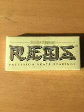 Bones Reds Ceramics skateboarding bearings 1 box (8 bearings) FREE SHIPPING