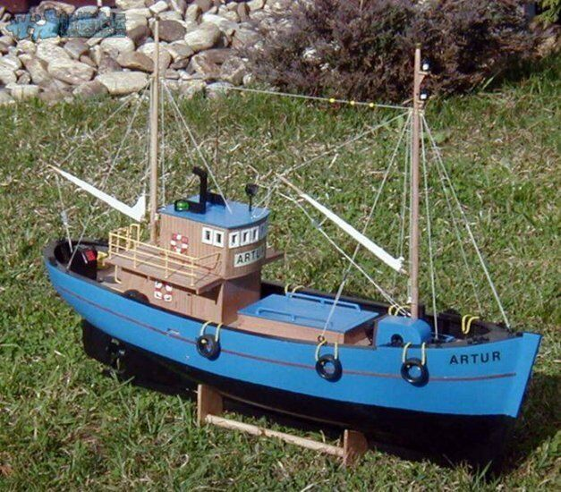 ZHL  ARTUR wood model ship kits scale 1 50 25inch