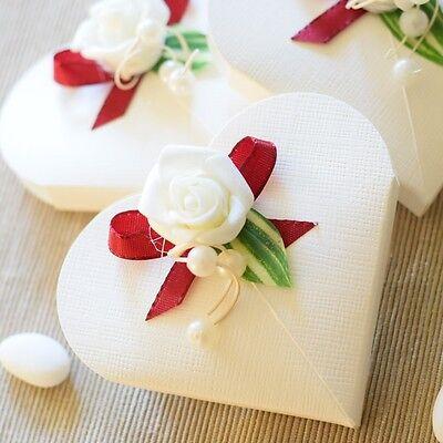 1 Stück Gastgeschenke, Herzen, Hochzeit, Kommunion, Taufe