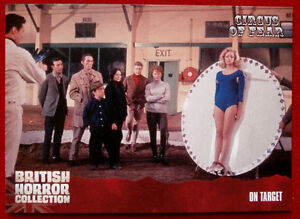 BRITISH-HORROR-COLLECTION-Circus-of-Fear-ON-TARGET-Card-85