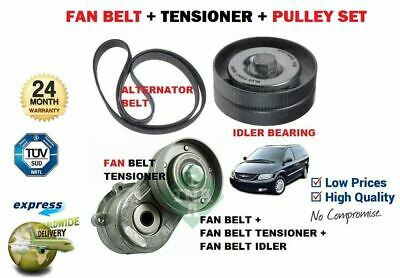 FOR CHRYSLER VOYAGER 2.5 2.8 AUXILIARY DRIVE FAN BELT TENSIONER 04-07 04861630AA