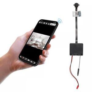 32GB Mini Telecamera di Sicurezza Wifi WLAN IP P2P Live App Bottone Casa A100