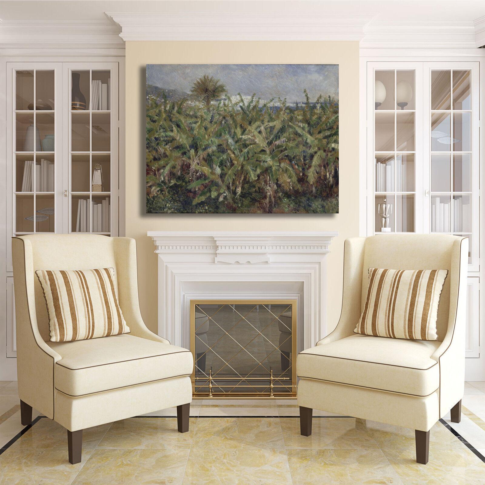 Renoir di campo di Renoir banani design quadro stampa tela dipinto telaio arRouge o casa 308889