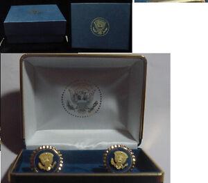 Presidential Barack Obama service staff cufflinks -