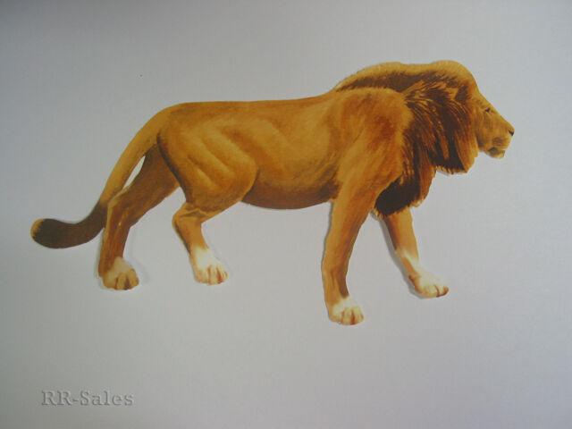 Lions Jungle Lion Wallpaper Wall Decals Sticker Cutouts Decor FX Decorate Design