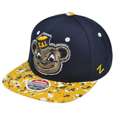 Baseball & Softball Ncaa Zephyr California Golden Bären Berkeley Splatter Flache Bill Die Nieren NäHren Und Rheuma Lindern