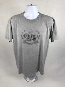 a6ea096afe9 Men s Vintage Nautica Jeans Company Short Sleeve T-Shirt Size Medium ...