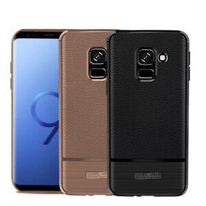 Slim-etui-en-Cuir-pour-Samsung-Galaxy-A3-A5-A8-J3-J5-2017-S8-S9-S9-plus
