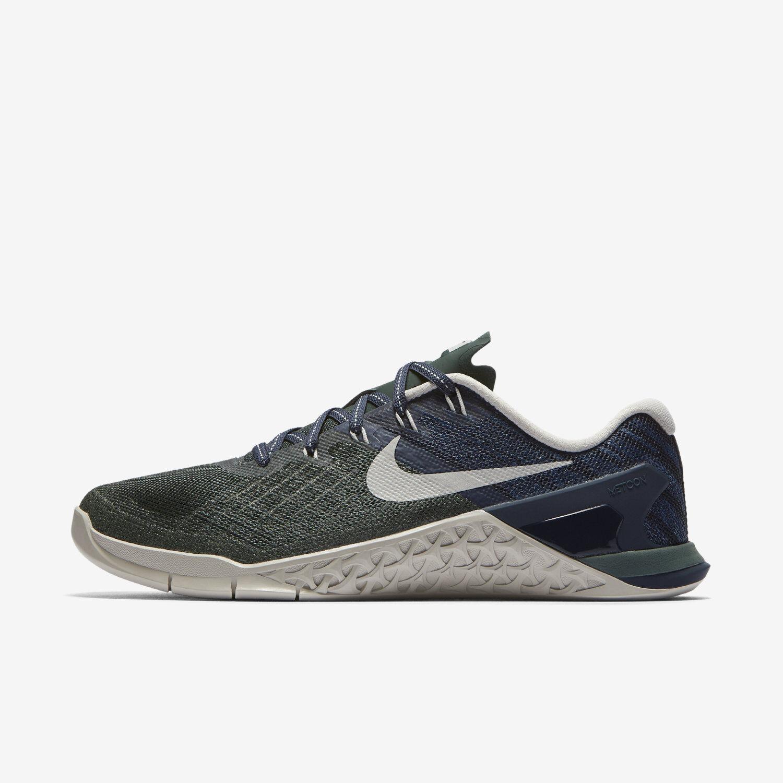 WOMEN'S Nike Metcon 3 Sz 5-10 Vintage Green Light Bone 849807-301 FREE SHIPPING