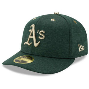 wide range various colors utterly stylish New Era Oakland A's 5950 2017 MLB All-Star Game Heather Green ...