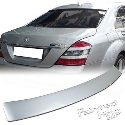 PAINTED For MERCEDES BENZ W221 S-CLASS A 4D TRUNK SPOILER S550 S400 S600 13 #775