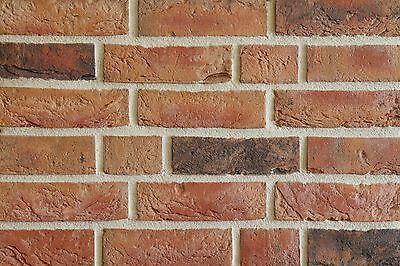 Handform-verblender Nf Bh997 Rot-braun-bunt Klinker Vormauersteine Wir Haben Lob Von Kunden Gewonnen Klinker Baustoffe & Holz