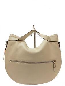 824b4e97636a1 Das Bild wird geladen VOI-Handtasche-Kurzgrifftasche-Schultertasche-Tasche- Creme-Weiss-Leder-
