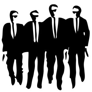 Reservoir Dogs Sticker Diecut Vinyl Decal Vw Bedroom Child