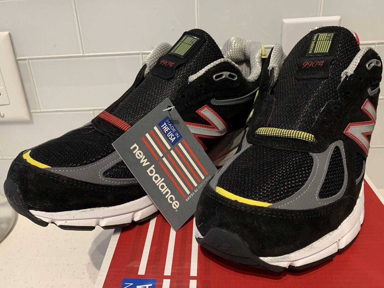Nuevo En Caja New 990v4 Hecho en EE. UU. Funcionando Balance Zapatos Negro M 990 DMVB para hombres
