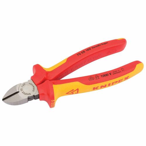 Drpaer Entièrement Isolé Diagonal Side Cutters 160 mm 31926