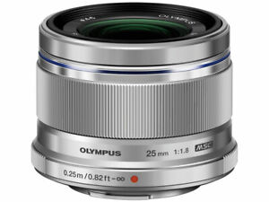 OLYMPUS-M-ZUIKO-DIGITAL-25mm-F1-8-Lens-Silver-Japan-Ver-New-FREE-SHIPPING