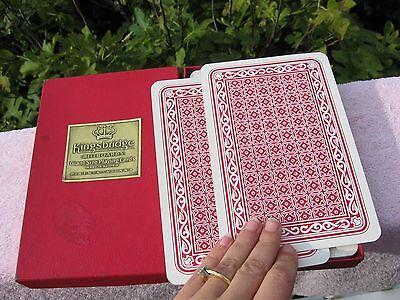 "Vintage Kingsbridge Vienna Austria ""Billboards"" GIANT JUMBO SIZE PLAYING CARDS"