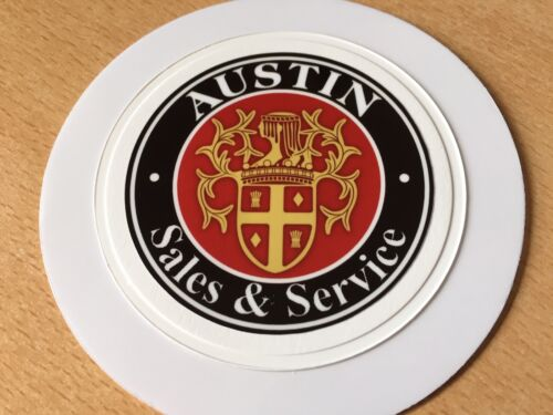 Austin Sales /& Service Tax Disc Holder Mini Cambridge A30 A40 ADO16 Westminster