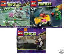 LEGO Teenage Mutant Ninja Turtles Mikey Kraang Shredder 30270 30271 5002127
