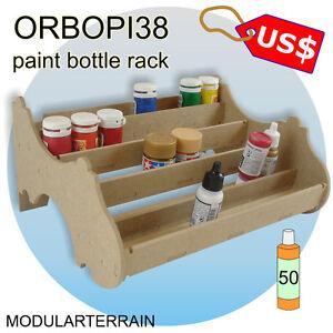 1x-botella-de-pintura-ORBOPI-38-Modular-apilable-Rack-35-o-50-Tamiya-Vallejo-Andrea