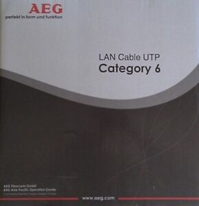GermanAEG-CAT-6-305M-UTP-1000-feet-roll-Ethernet-LAN-Network-Cable-solid-copper
