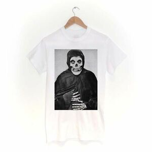 Crimson Ghost T Shirt Misfit Glen Skull Eyes Horror Halloween Afi