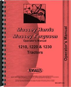 massey ferguson 1210 manual