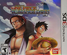 One Piece: Romance Dawn USED SEALED (Nintendo 3DS, 2014)