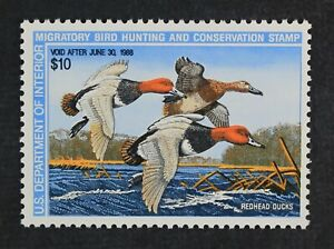 CKStamps-US-Federal-Duck-Stamps-Collection-Scott-RW54-10-Mint-NH-OG