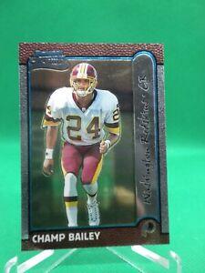 1999 Bowman Chrome#177Champ Bailey HOF ROOKIE Redskins / Broncos / Georgia