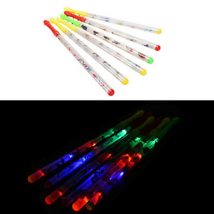Butterfly pattern light up sticks flashing patrol wands for Led wands wholesale