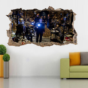 harry potter plakat smahed zimmer cartoon kinderzimmer wand abziehbilder 3d ebay. Black Bedroom Furniture Sets. Home Design Ideas