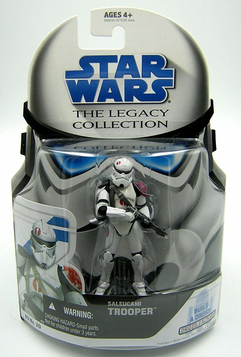Star Wars Legacy Collection BD20 Saleucami Trooper Neyo