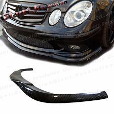 CL Type 3K Carbon Fiber Front Lower Lip Fit 03-06 BENZ W211 Sedan E55AMG Bumper