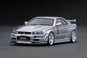 ig1607-ignition-Model-nismo-r34-Nissan-GT-R-R-Tune-silver-1-43